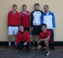 Die jungen Herren der dritten Mannschaft konnten ihre Leistung alle abrufen.