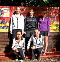 Nach der Meisterschaft im letzten Jahr spielen die Damen nun in der Verbandsliga.