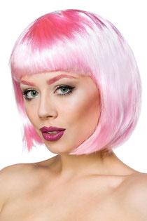 Bob-Perücke rosa