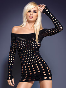 Rocker Dress lange Ärmel