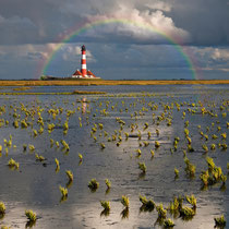 Rainbow m. Lighthouse