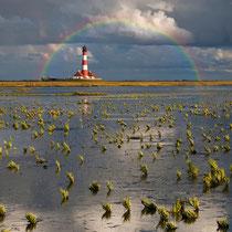 Rainbow m. Lighthouse
