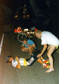 Szene vom Race Across America 1999