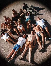 Team vom Race Across America 2000