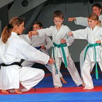 Karate mit Kindern