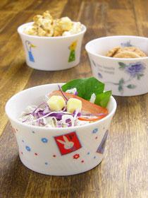 Shinzi Katoh シンジカトウ デザイン かわいい陶器 ココット デザートカップ