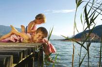 Sommerurlaub mit Kindern am Reschenpass beim Reschensee: für Kinder immer was zum Entdecken in Reschen