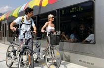 Mountainbikeurlaub am Reschenpass: mit der Mobilcard ein bequemer und abwechslungsreicher Fahrradurlaub