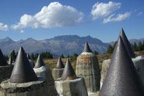 Plamort in der Ferienregion Reschenpass. Grandioser Panoramablick  bei der Sehenswürdigkeit inklusive.