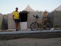 Übernachtung an der Grenze am 23./24.11.2009