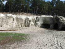 Die Sandhöhlen bei Blankenburg