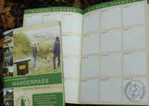 Harz-Wanderpass mit erstem Stempel
