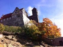 Für Schatzsucher: Stiftskirche in Quedlinburg