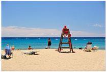 Am Strand von Teneriffa