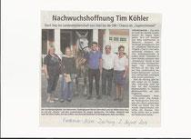 Verdener Aller-Zeitung vom 02.08.14