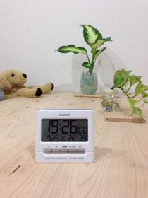 ▲湿度は40%前後です〜♪