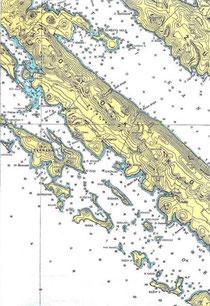 the Kornati Islands