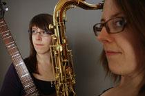Duo, Jazz, Saxophon, Gitarre