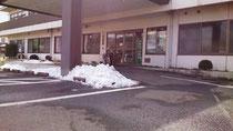 まだ残る雪