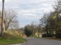 Straße nach Tornow