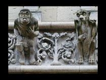 Wasserspeier der Kirche Notre Dame von Dijon