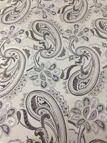 In stock fabric and ready made drapery panels