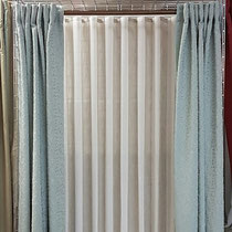 Ripple fold Drapery at Drapery King Toronto come in and choose for thousands of instock fabric know the colour you love and get the right dielot 416-783-7373