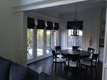 Custom Made Roman Blinds made by Drapery King Toronto  416 783 7373