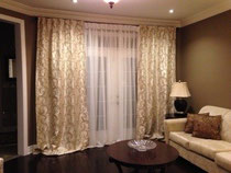 Ready-made drapery panels Toronto