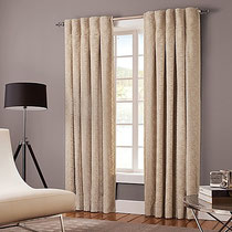 Designer's Select Claudia Back Tab Window Curtain Panel  Lined
