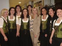 Mit Sonja Kleindienst