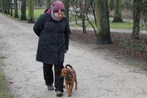 Erziehungsspaziergang im Hofgarten