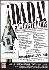 DADA A LA CARTE PARIS