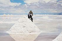 Salz ist gut für die Haut
