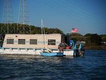 Docktown houseboat