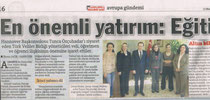 Hürriyet, April 2012
