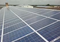 190 kWp Suntellite 240 Wp polykristallin sowie 150 kWp Siliken 245 Wp polykristallin