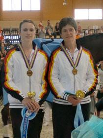 Sophie Hofmann und Heide Pozepnia