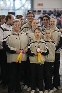 so kann es weiter gehen. Gold für  Hanne Strübel, Moritz Wolf, Susi Wunderle, Simon Stolz, Gerrit Sabel, Malu Augustin und Sophie Hofmann