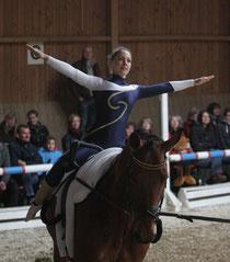 Jasmin Schneider auf Dancer/ Hungenroth