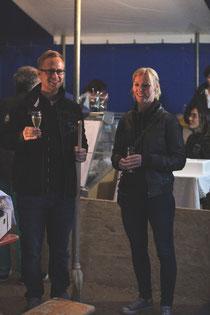 Holger Janssen geht, Kristina Bolz kommt / Bild Berthold Sabel