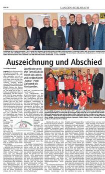 Langener Zeitung 12.03.2014