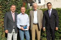 Wolfgang Steinmann, Reinhard Rohr, Egon Jüttner und Jürgen Wolf
