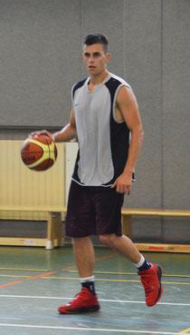 Jakob Schilk gehört ab sofort zum Kader der 1. Herrenmannschaft. Foto: Moradi