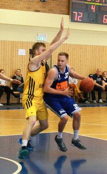 Auch 17 Punkte von Florian Bunde brachten am Wochenende nicht den Sieg. Foto: Fromme