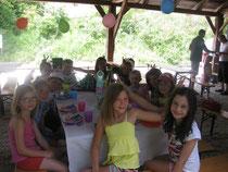 Geburtstagsfeier im Alpakafreizeitpark