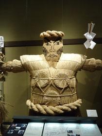 画像:村の守り神(鹿島様)