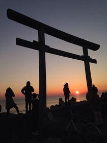 画像:初日の出