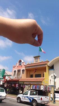 画像:メキシコ国境の街 ティアナ