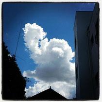 画像:アンパンマン雲